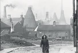The Bottle Kilns of Stoke-On-Trent