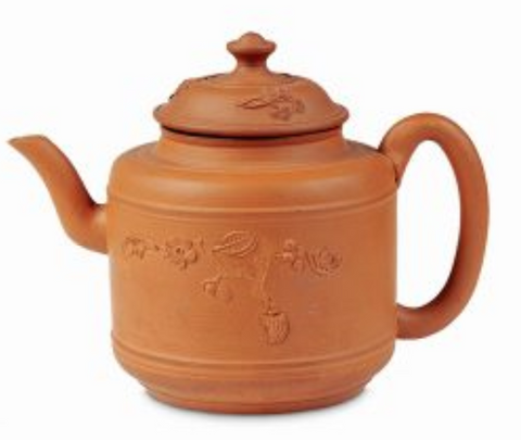 An early Brown Betty Teapot from the 17th Century.