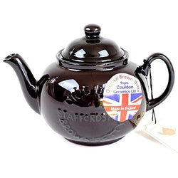 BROWN BETTY Brown Betty teapot for 4 cups New model logoed made in England