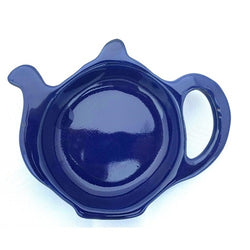 Cobalt Betty Teapot Teabag Tidy