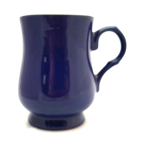 Cobalt Betty Teapot King Mug