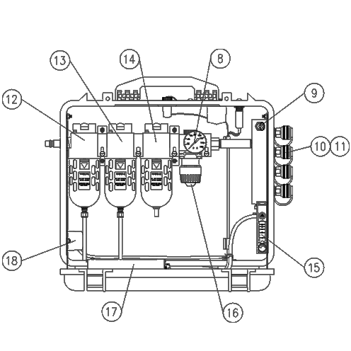 Air Systems BB50-CO Breather Box & Parts