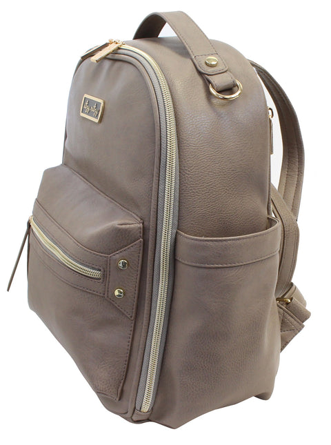 Mini Diaper Bag Backpack - Taupe