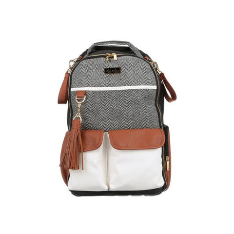 Diaper Bag Backpack - Coffee and Cream