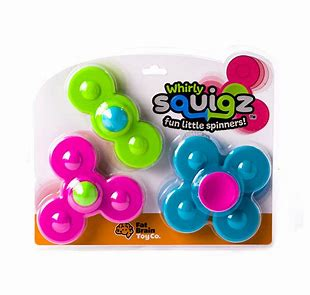 Whirly Squigz Spinners