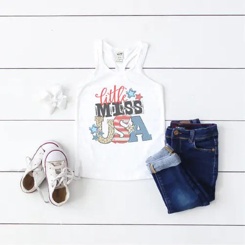 Little Miss USA Tank