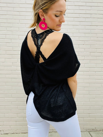 Taylor Twist Top - Black
