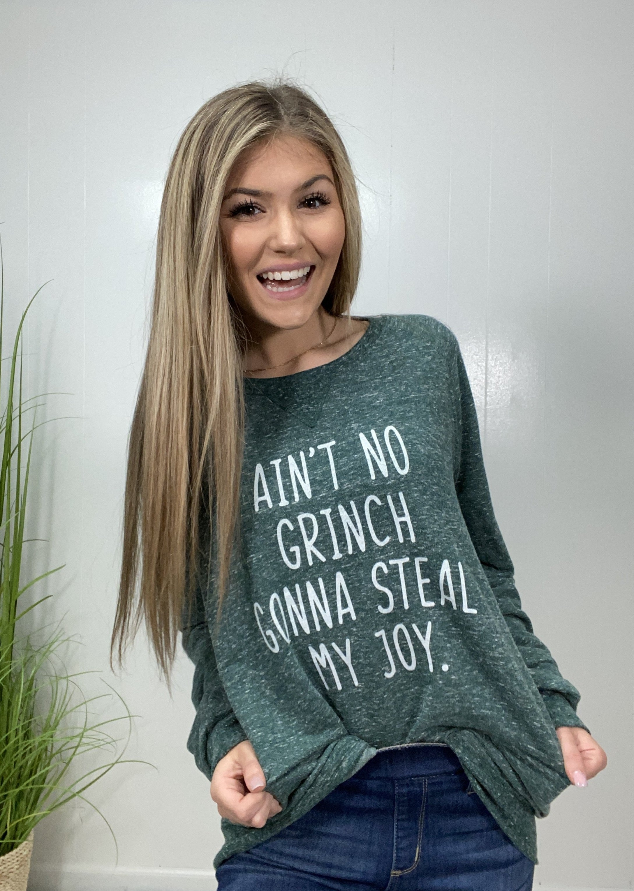 """Ain't no Grinch"" Christmas Sweater"