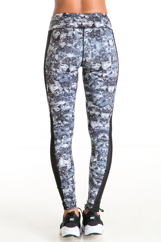 Alexa Midnight Diamond Leggings - Xahara Activewear