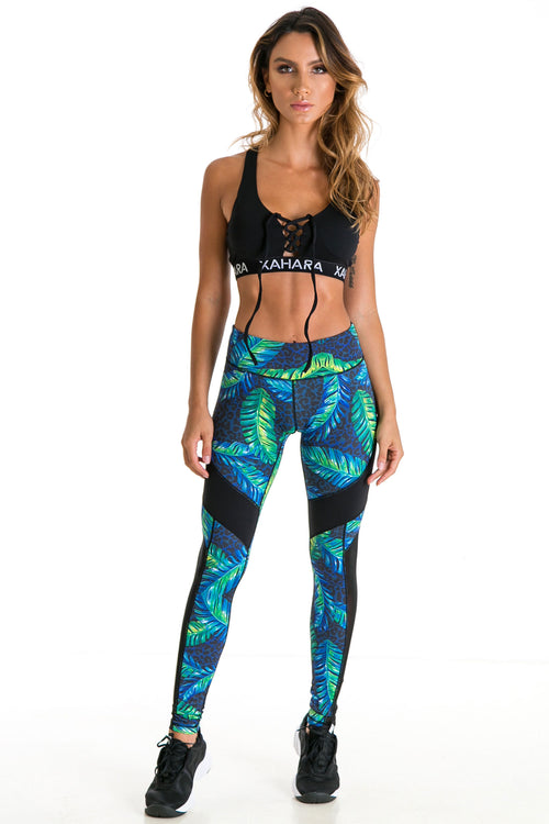 GYM, YOGA, HIIT, PILATES, MYSTIC JUNGLE LEGGINGS, LEGGINGS, YOGA LEGGINGS, TROPICAL LEGGINGS, PILATES