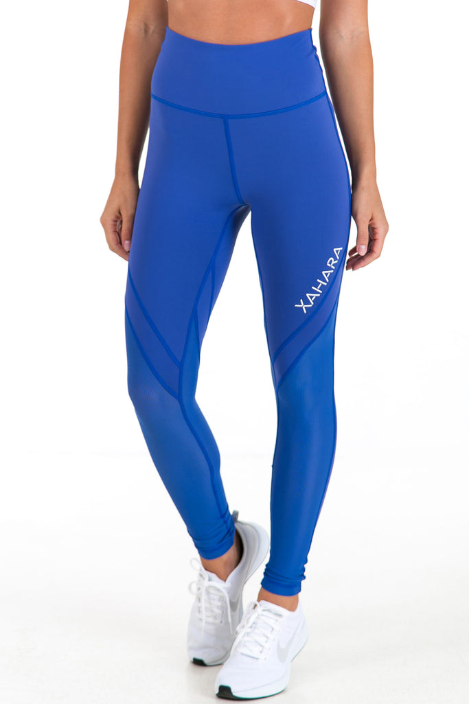 Bootylicious Leggings - Olympic Blue (XS, L & XL Only) - Xahara Activewear