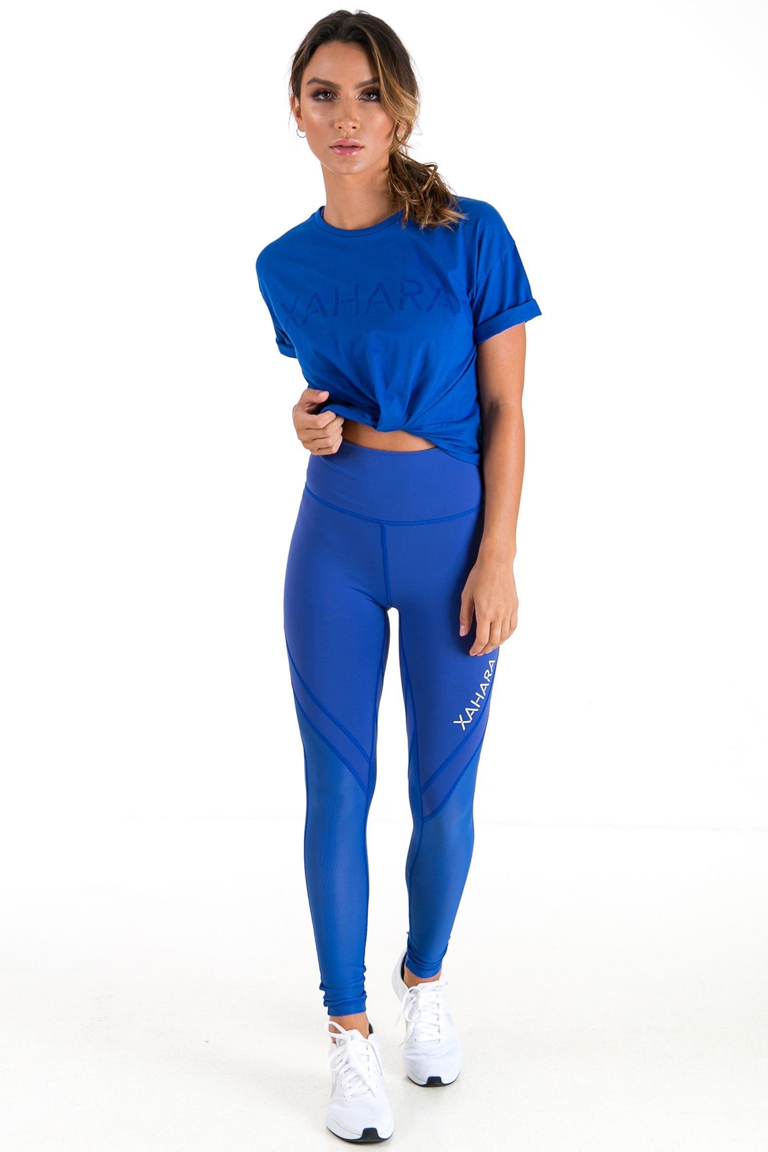 Bootylicious Leggings - Olympic Blue - Xahara Activewear