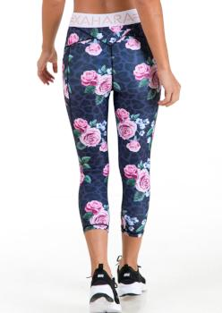 Paris 3/4 Legging - Desert Rose - Xahara Activewear