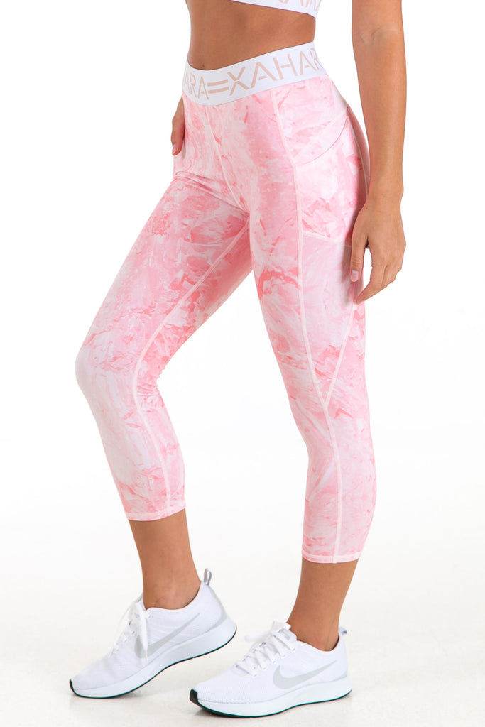 Paris Legging - Rose Quartz - Xahara Activewear