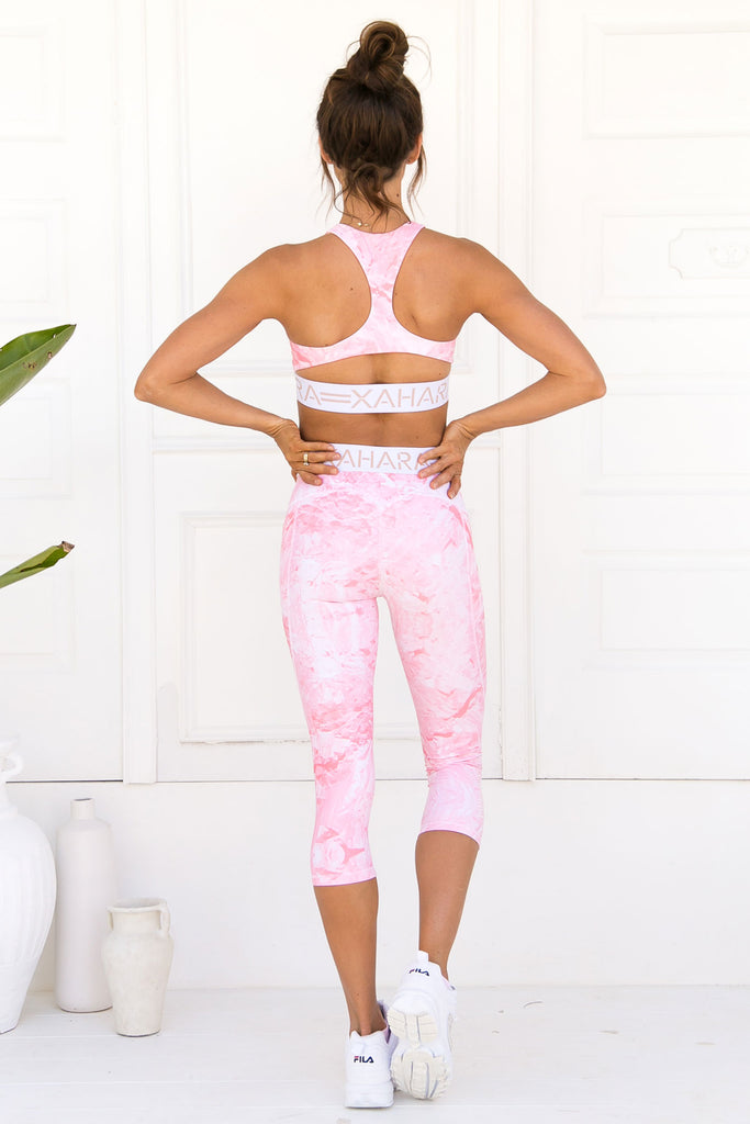 Candice Sports Bra -Rose Quartz - Xahara Activewear