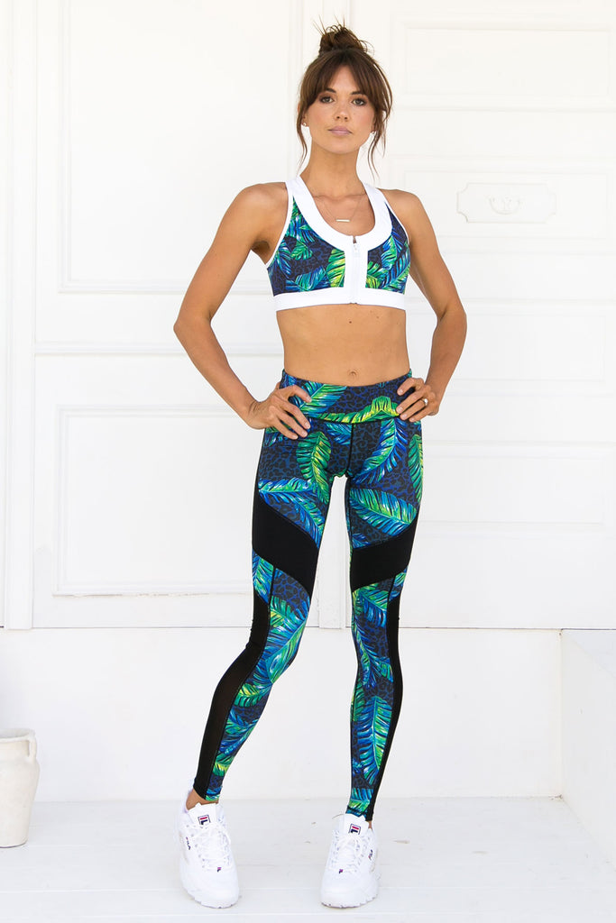Alexa Mystic Jungle Leggings - Xahara Activewear