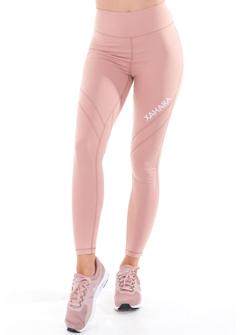 Bootylicious Leggings - Blush - Xahara Activewear