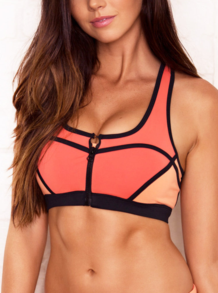 Carmen Sunset Crop ( L Only) - Xahara Activewear