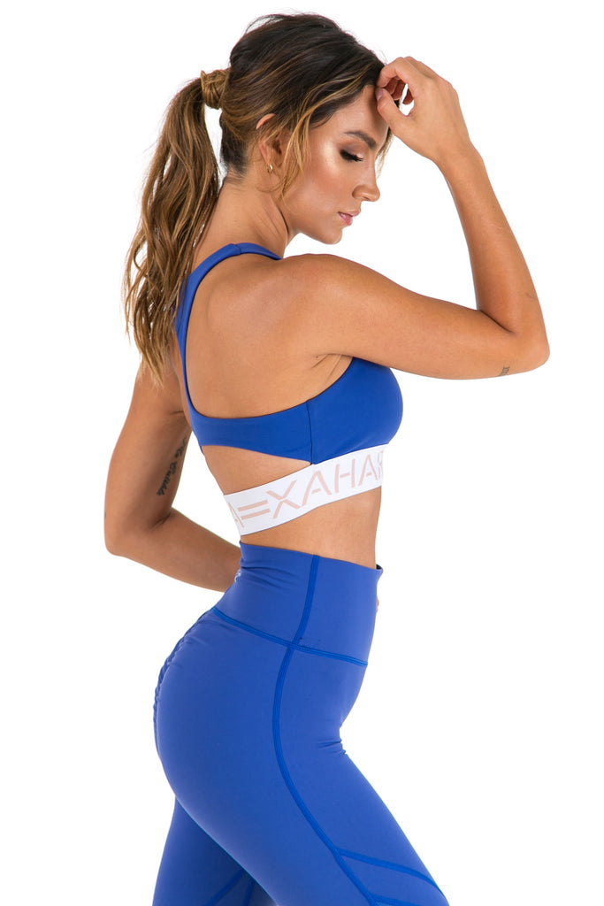 Candice Sports Bra - Olympic Blue - Xahara Activewear