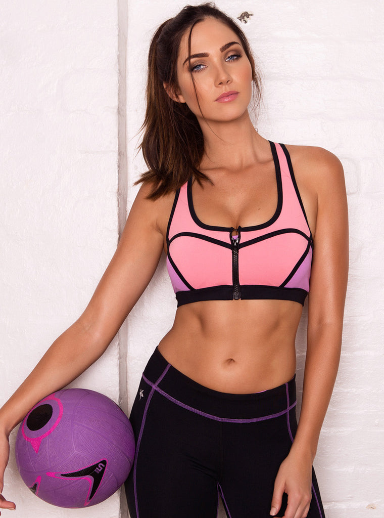 Carmen Berry Sports Bra (Size L Only) - Xahara Activewear