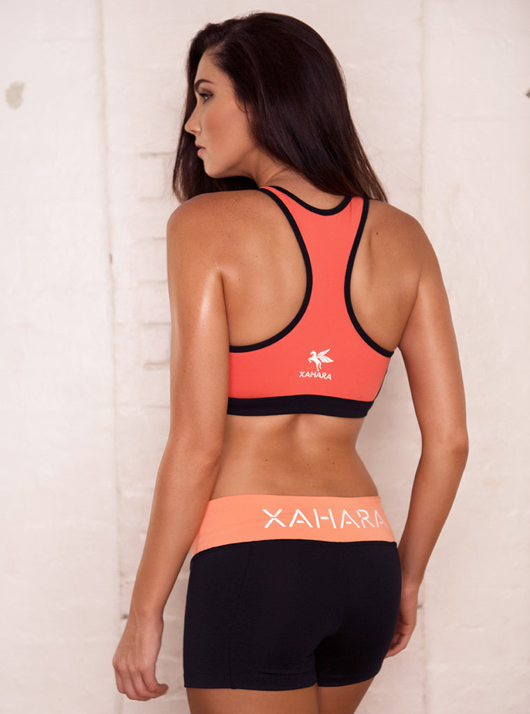 Eclipse Sunset Shorts - Xahara Activewear