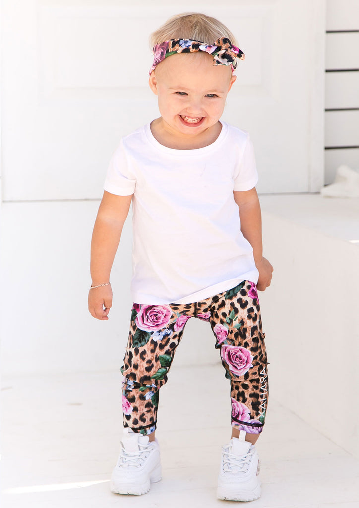 Junior Leopard Love Leggings - Xahara Activewear