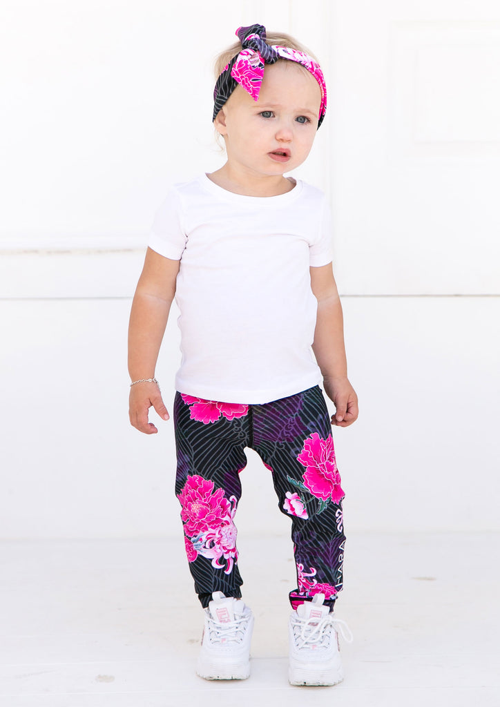 Junior Origami Bloom Leggings - Xahara Activewear