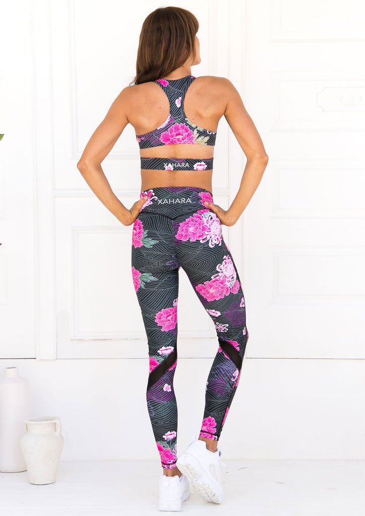 Valentina Origami Bloom Sports Bra - Xahara Activewear
