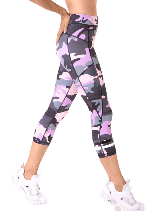 3/4 Legging perfect for gym, yoga, pilates, barre