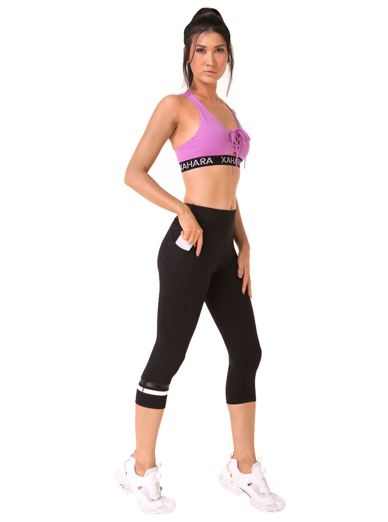Phoenix Noir Leggings (XS Only) - Xahara Activewear