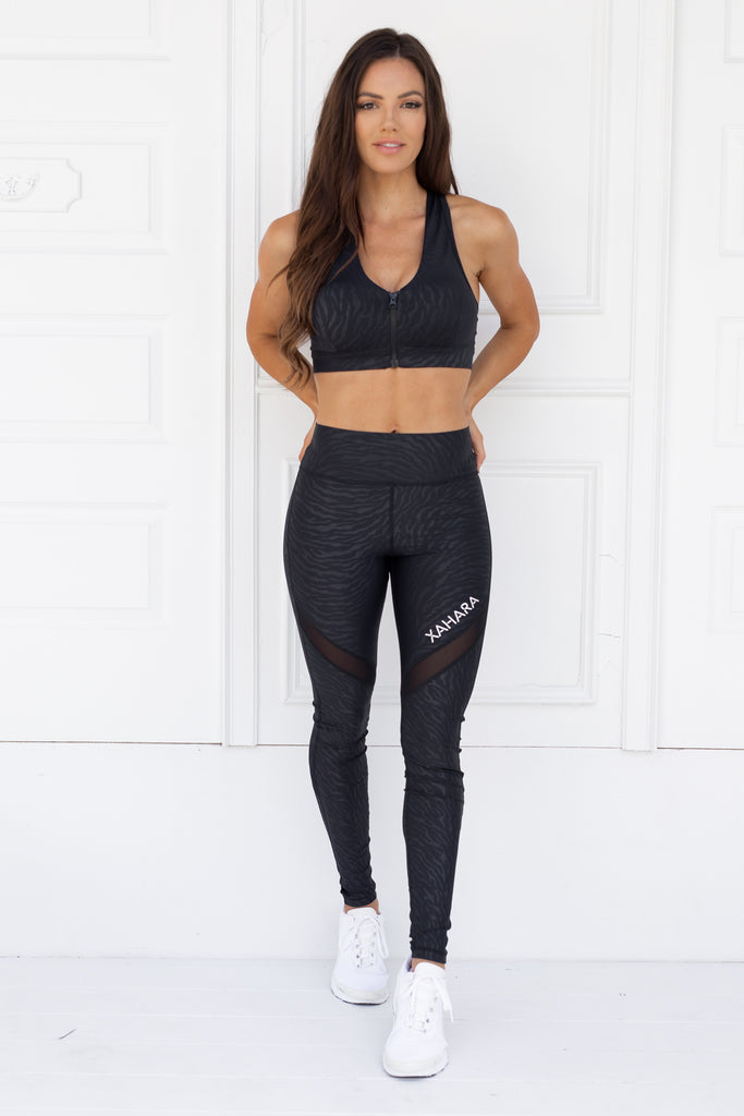 Bootylicious Tigress Leggings - Xahara Activewear