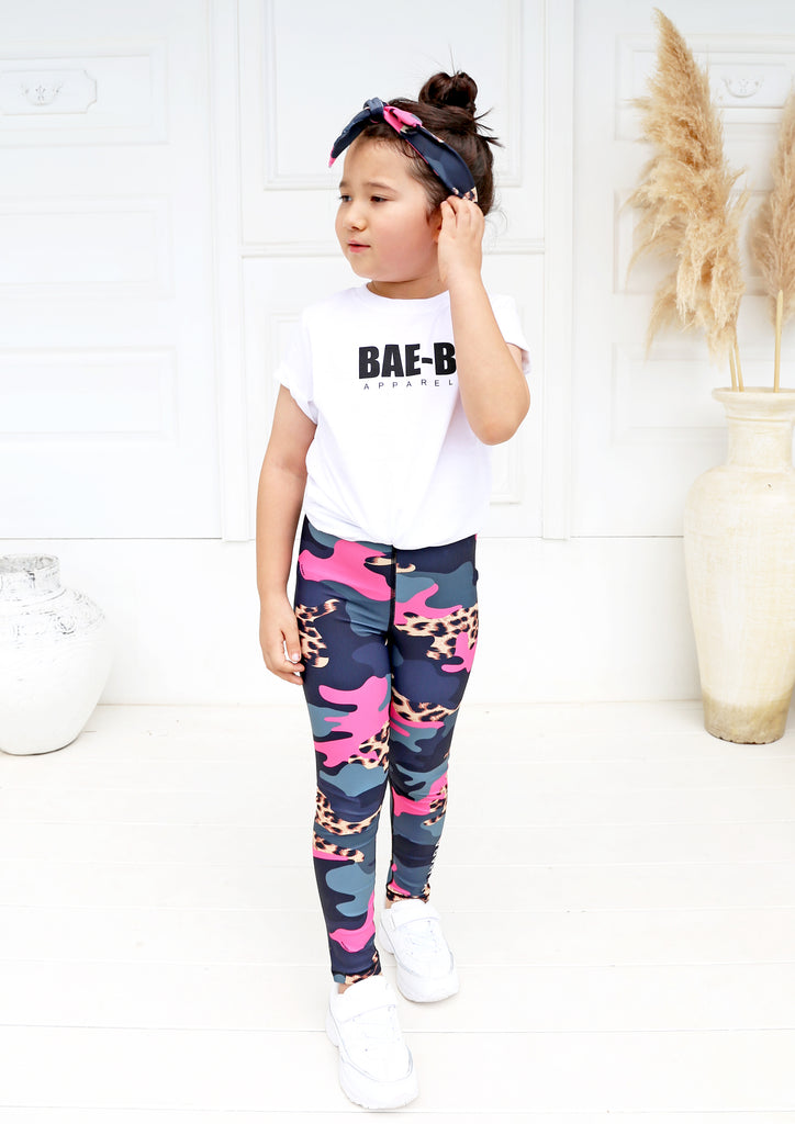 Junior Leopard Camo Legging - Xahara Activewear