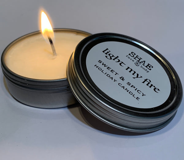 LIGHT MY FIRE HOLIDAY CANDLE