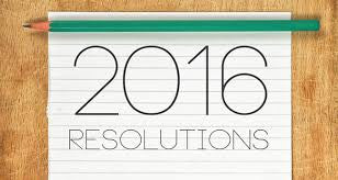 New Years Resolution 2016