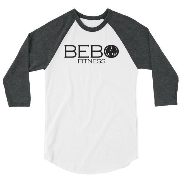 Bebo Fitness 3/4 Sleeve Raglan Shirt