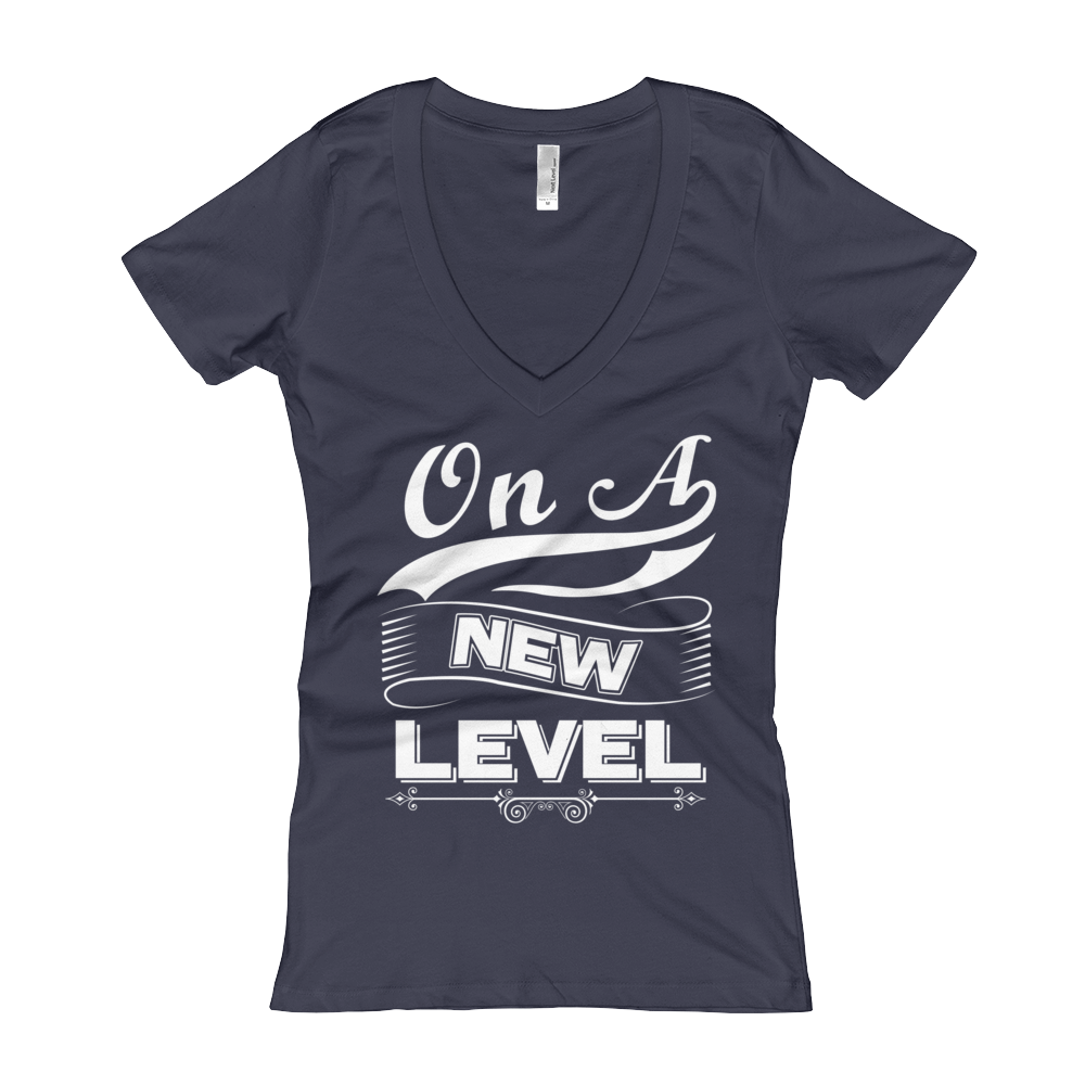 On A New Level Women's V-Neck