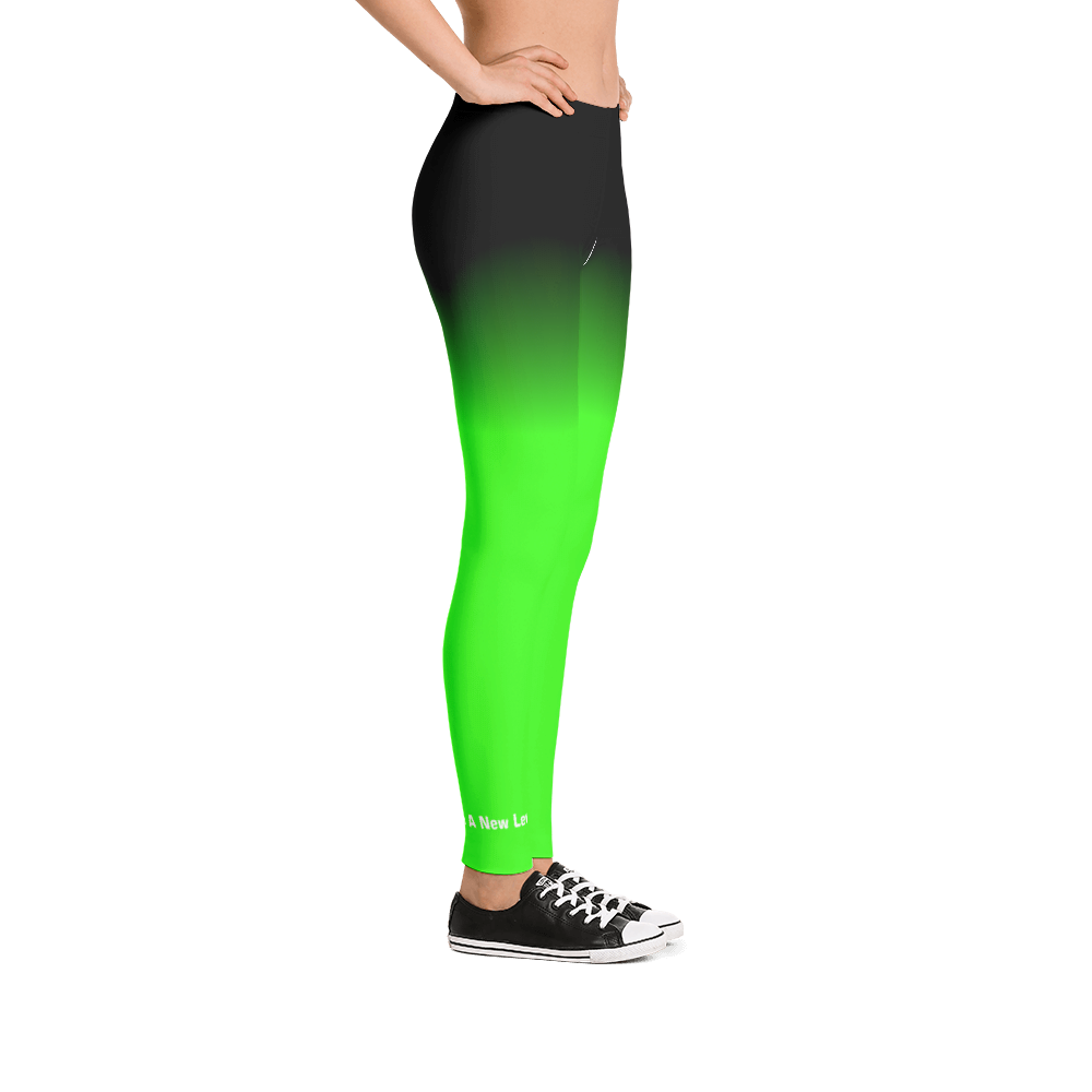 Bebo Fitness Leggings (Neon Green)