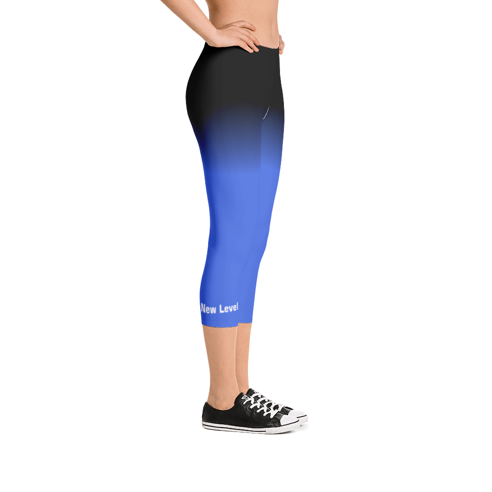 Bebo Fitness Capri Leggings (Royal Blue)