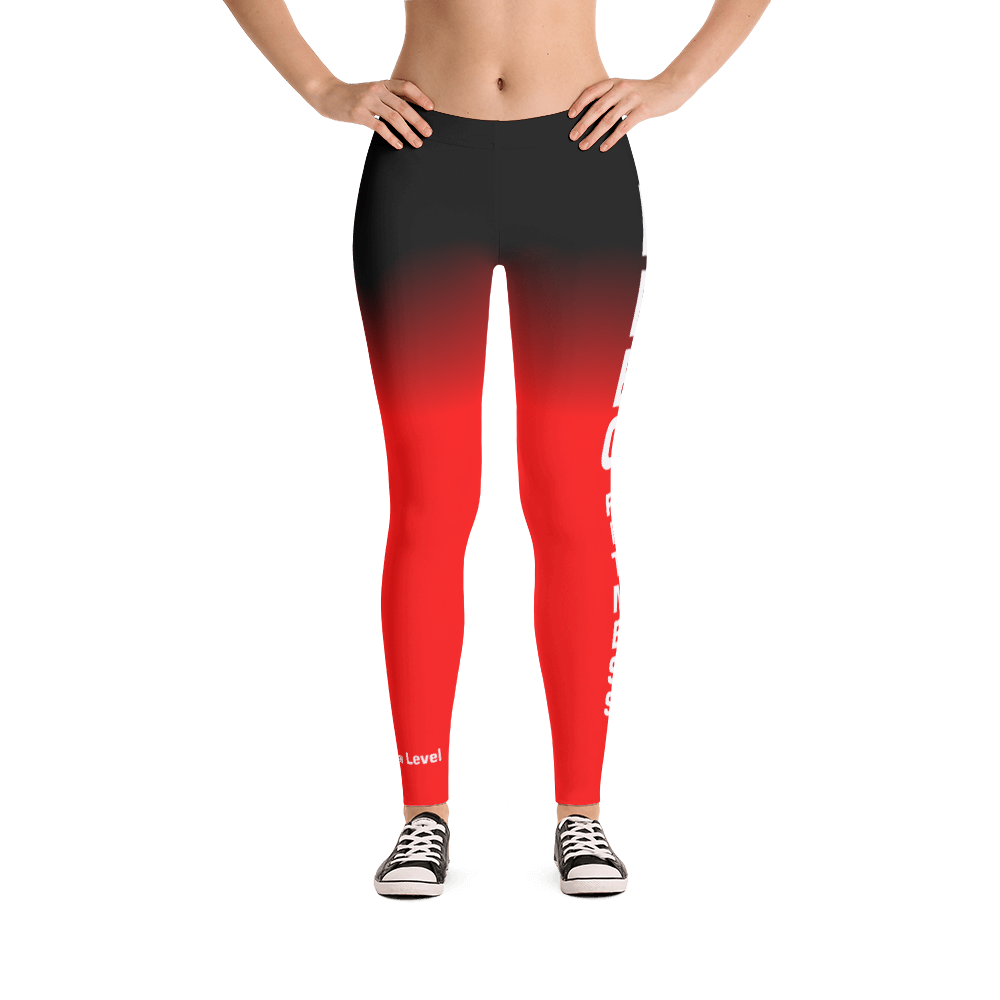 Bebo Fitness Leggings (Red)