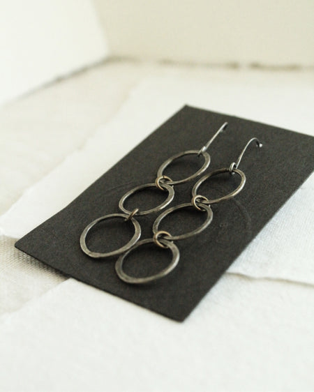Silver & Brass Earrings