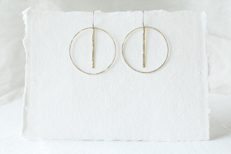 e0028 Large Brass Circles and Bars