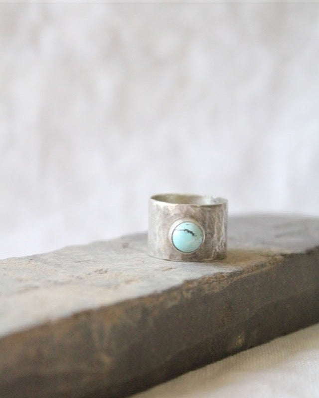 BL93 Turquoise and Silver