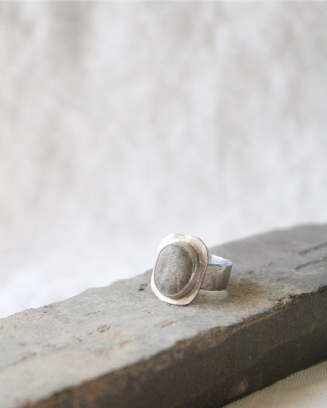 BL80 Baltic Sea Stone and Silver