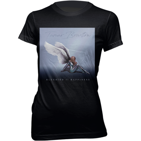 Bluebird of Happiness Album Art Ladies Tee