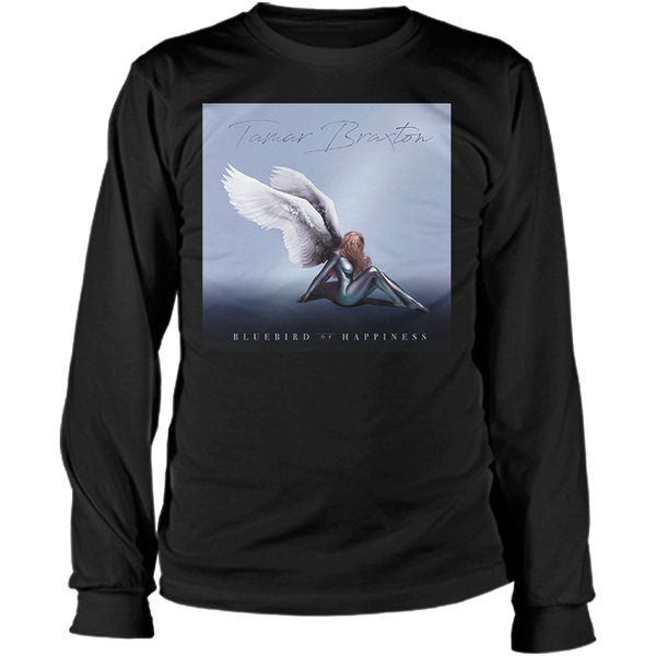 Bluebird of Happiness Album Art Long Sleeve Tee