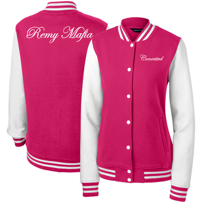 Remy Mafia Conceited Ladies Letterman Jacket