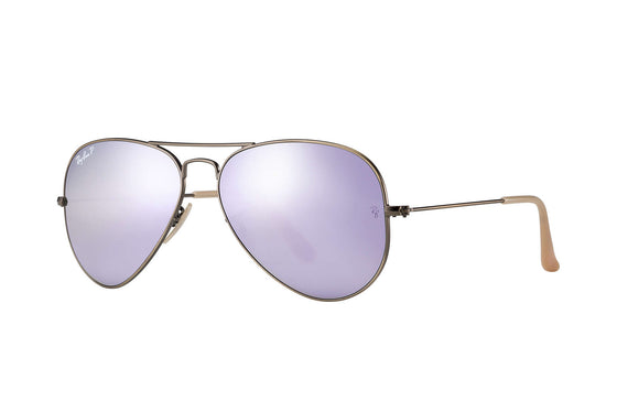 RayBan AVIATOR Bronze-Copper Lilac Flash RB3025 167/1R