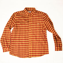 Red and Tan Flannel