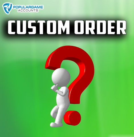Custom Order Pokemon Go Service