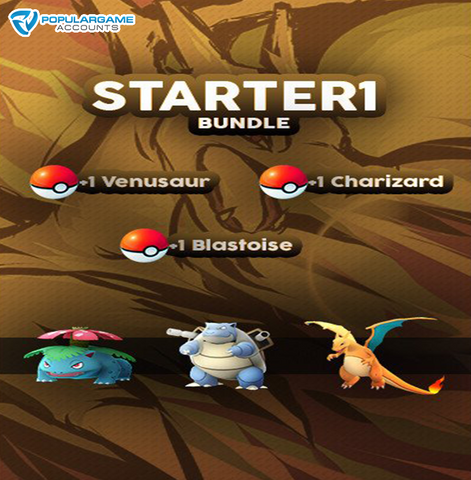 Starter Gen. 1 Bundle Pokemon Go Service